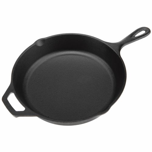 "Lodge 10.25"" Preseasoned Cast-Iron Skillet"