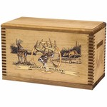 Evans Sports American Wildlife Wooden Ammo/Accessory Box