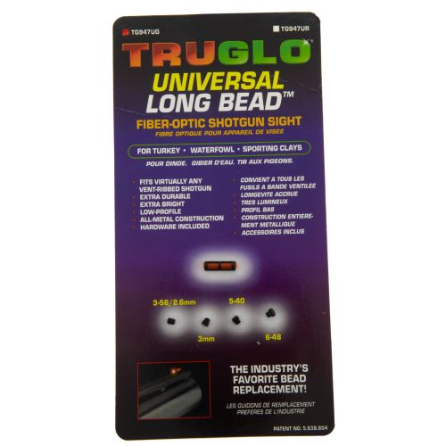 Display product reviews for Truglo Long-Bead Universal Shotgun Sight
