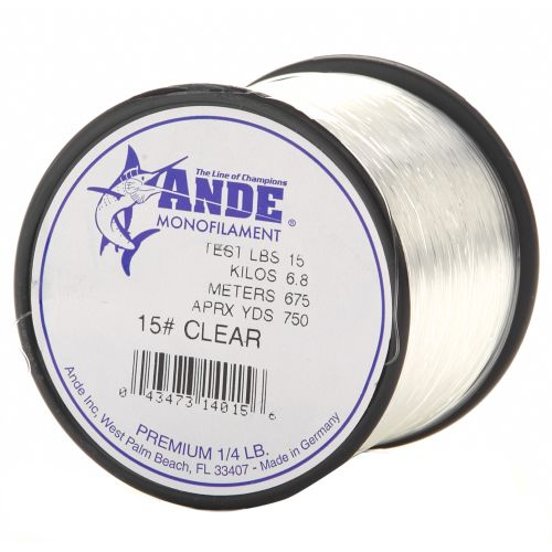 Display product reviews for ANDE® Premium 15 lb. - 750 yards Monofilament Fishing Line