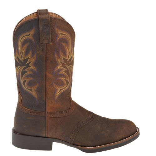 Display product reviews for Justin Men's Stampede Cattleman Western Boots