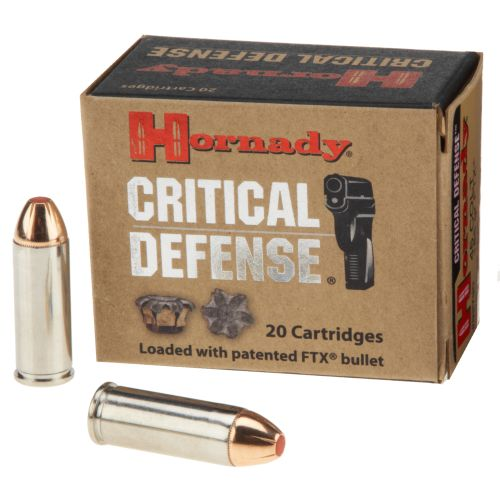 Hornady Critical Defense® FTX .45 Colt 185-Grain Handgun