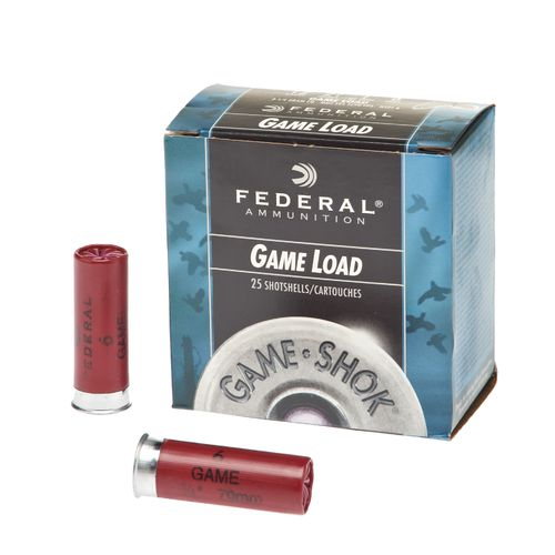 Federal Premium® Ammunition Game-Shok® Game Load 12 Gauge 6 Shotshells
