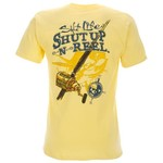 Salt Life Men's Shut Up and Reel 'Em T-shirt