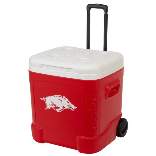 Igloo University of Arkansas Ice Cube™ 60 qt. Roller Cooler