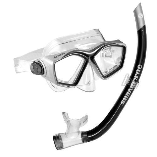 Aqua Lung Adults' Icon/Airent Snorkeling Combo