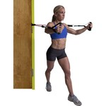 GoFit Rubber Resistance Training System Extreme Tube Handles