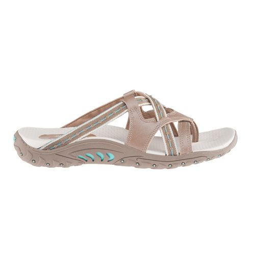 SKECHERS Women's Reggae Soundstage Thong Slide Sandals