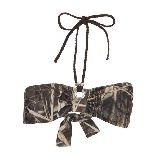 Realtree Juniors' MAX-4 Bandeau Bra Swim Top
