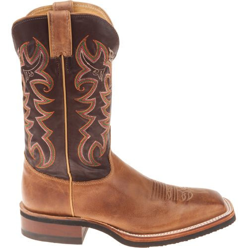 Justin Men's AQHA Q-CREPE® America Cowhide Western Boots