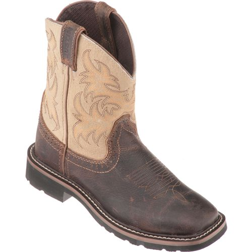 Justin Kids' Stampede Waxy Boots - view number 3