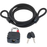 Bell Armory 200 Cable and Key Bicycle Padlock