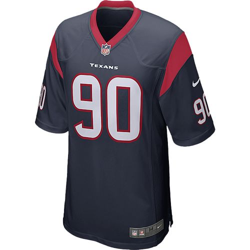Nike Men's Houston Texans Jadeveon Clowney 90 Game Jersey
