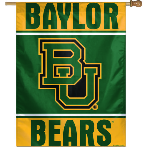 WinCraft Baylor University Vertical Flag
