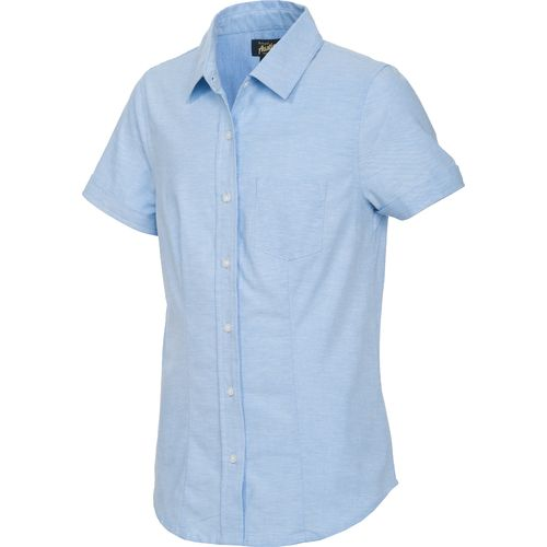 Austin Trading Co. Juniors' Uniform Short Sleeve Stretch Oxford Shirt