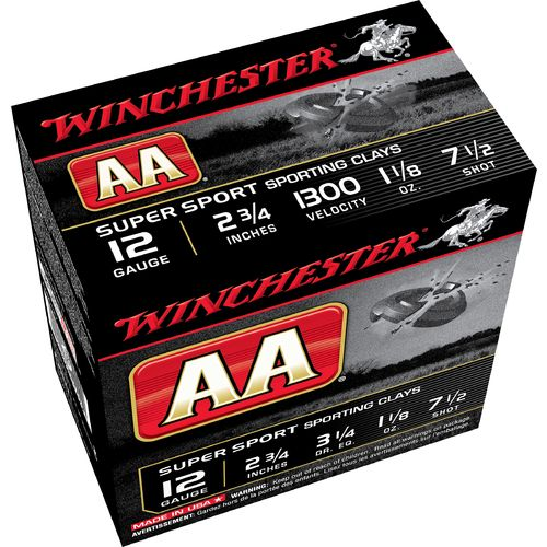 Winchester AA Super Sport Target Load 12 Gauge Shotshells - view number 2