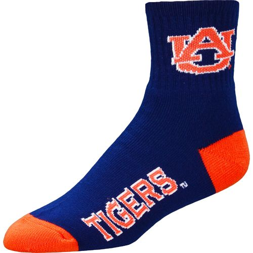 For Bare Feet Men's Auburn University Originals Team Quarter Socks