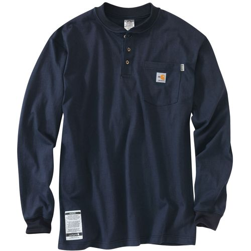 Display product reviews for Carhartt Men's Flame-Resistant Force Cotton Long Sleeve Henley