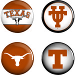 WinCraft University of Texas Buttons 4-Pack