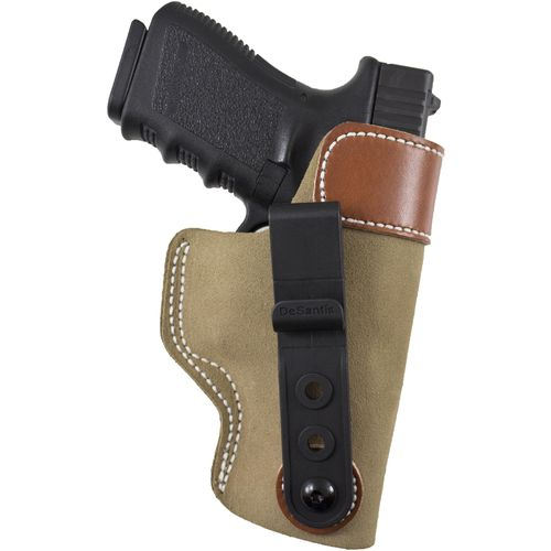 Display product reviews for DeSantis Gunhide® Sof-Tuck™ Inside the Waistband Tuckable GLOCK 19/23 Holster