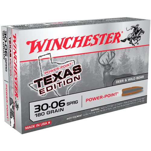 Display product reviews for Winchester Texas Edition .30-06 Springfield 180-Grain Centerfire Rifle Ammunition