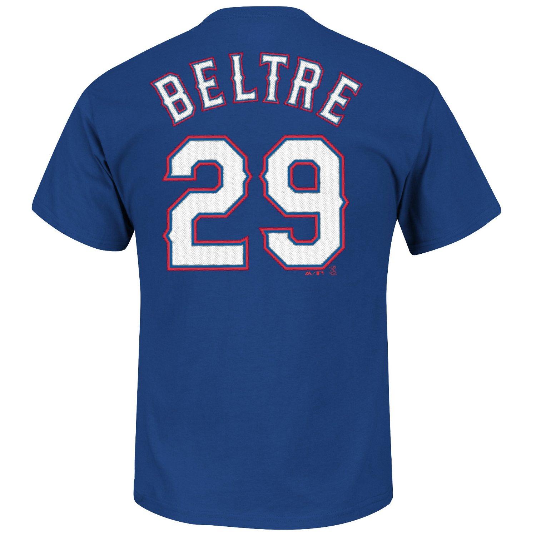 Majestic Men's Texas Rangers Adrian Beltré #29 T-shirt