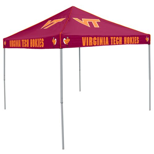 Logo Virginia Tech Straight-Leg 9 ft x 9 ft Color Tent