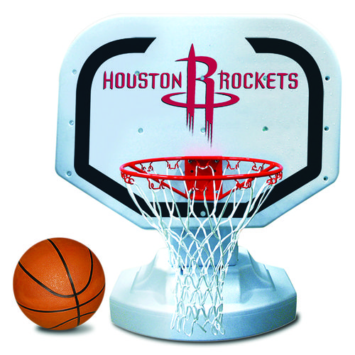 Poolmaster® Houston Rockets Competition Style Poolside Basketball Game