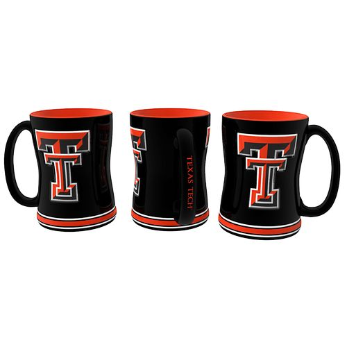 Boelter Brands Texas Tech University 14 oz. Relief-Style Coffee Mug