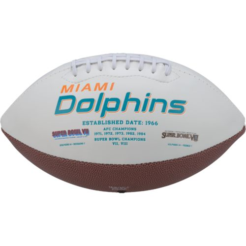 Rawlings Miami Dolphins Signature Series Full-Size Football