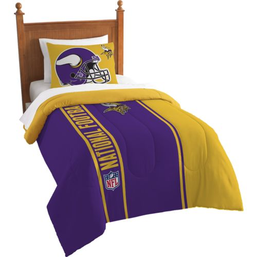 The Northwest Company Minnesota Vikings Twin Comforter and Sham Set