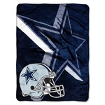 The Northwest Company Dallas Cowboys Bevel Micro Raschel Throw