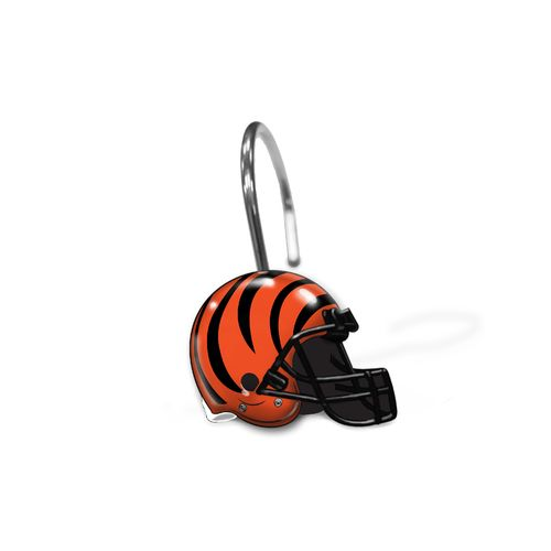 The Northwest Company Cincinnati Bengals Shower Curtain Rings