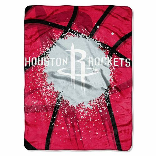 The Northwest Company Houston Rockets Shadow Play Super Plush Throw - view number 1