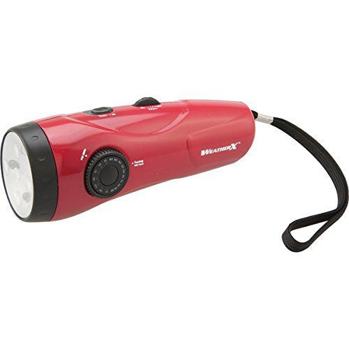 Weather X Weather Radio LED Flashlight