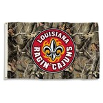 BSI University of Louisiana at Lafayette Camo Flag