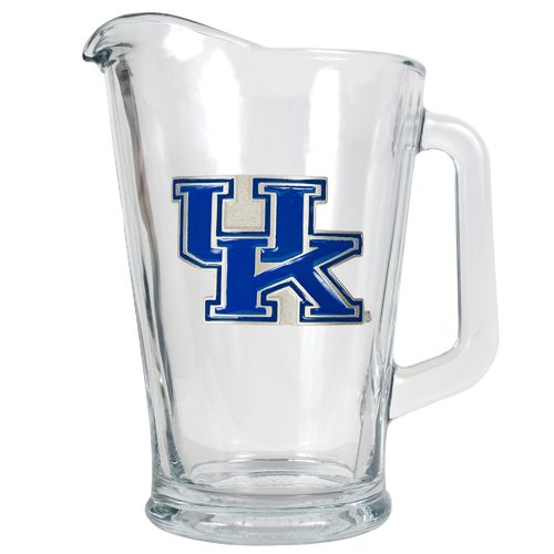 Great American Products University of Kentucky 1/2-Gallon Glass Pitcher