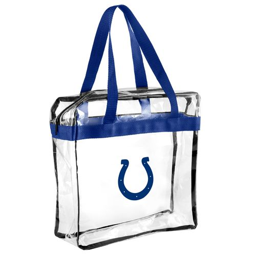 Team Beans Indianapolis Colts Clear Messenger Bag