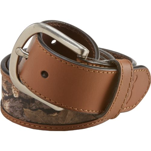 Browning™ Men's Leather Tab Belt