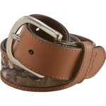 Browning Men's Leather Tab Belt