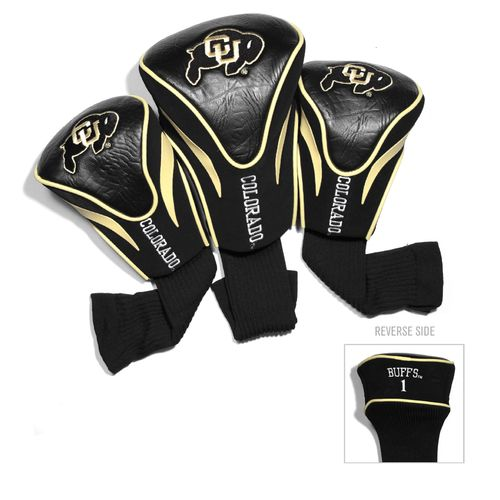 Team Golf University of Colorado Contour Sock Head Covers 3-Pack