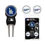 Team Golf Los Angeles Dodgers Divot Tool and Ball Marker Set - view number 1