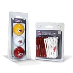 Team Golf Kansas City Chiefs Golf Balls and Tees Set