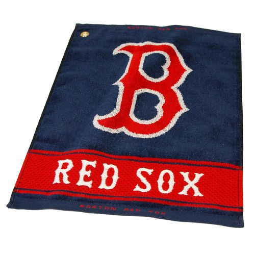 Team Golf Boston Red Sox Woven Towel