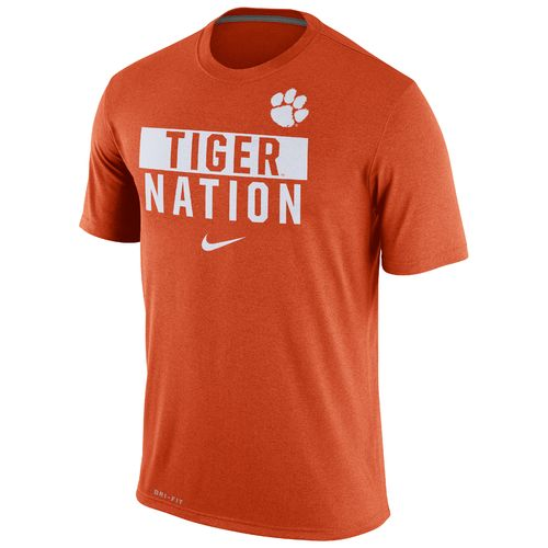 Nike™ Men's Clemson University Legend Local Verb T-shirt