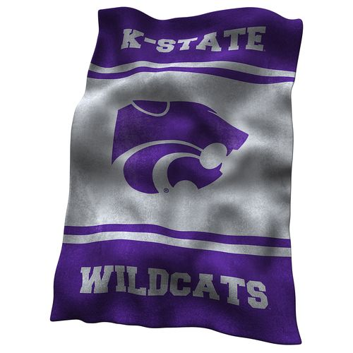 Logo™ Kansas State University Ultrasoft Blanket