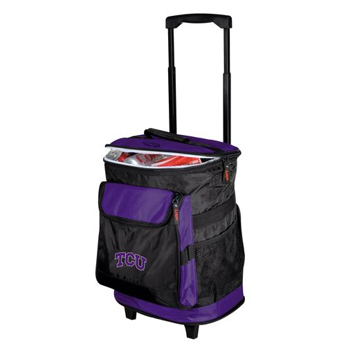 Logo™ Texas Christian University 48-Can Rolling Cooler