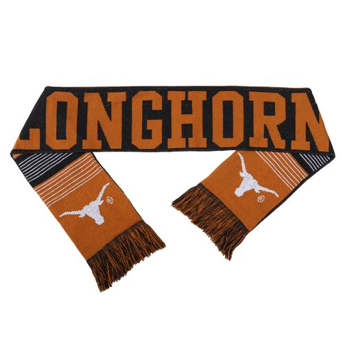 Forever Collectibles™ Adults' University of Texas Reversible Split Logo Scarf