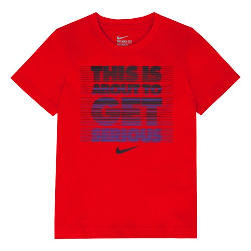 Nike Boys' Get Serious Short Sleeve T-shirt