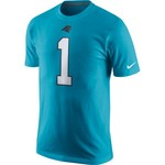 Nike Men's Carolina Panthers Cam Newton 1 Player Pride T-shirt - view number 2